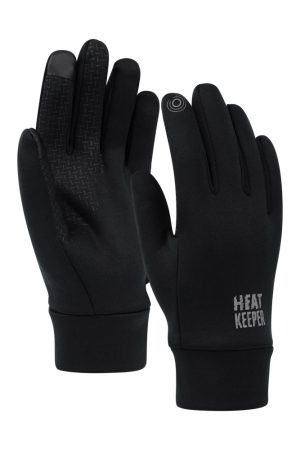 Heren thermo handschoenen techno zwart