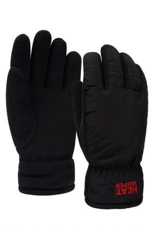 Mega thermo heren handschoenen zwart