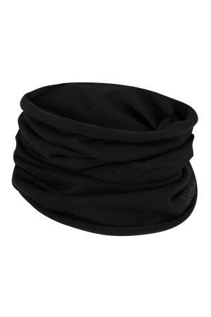 Multifunctionele unisex sjaal/nekwarmer zwart